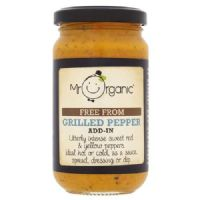 Mr Organic Free From Grilled Pepper Add-In Sauce 190g
